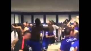 Asi festejó la Juventus su pase a la final de Champions en los vestuarios del Real Madrid