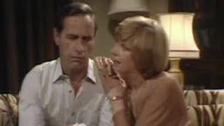 Romance on the sofa - Butterflies - BBC classic comedy