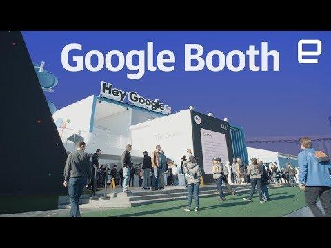 Xxx Mp4 Google Booth Tour At CES 2018 3gp Sex