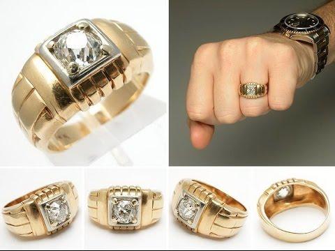 Как сделать кольцо золотым