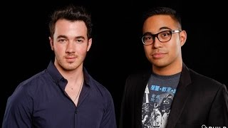 In Conversation with Kevin Jonas on the AOL Build Stage