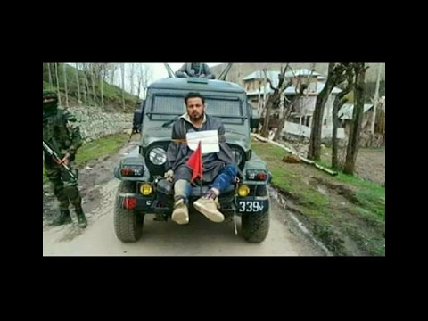 Xxx Mp4 Kashmiri Man Tied In Front Of Army S Jeep Video Goes Viral 3gp Sex