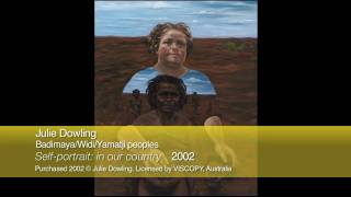 116 - 37840 - Julie Dowling 'Self-portrait: in our country'  2002
