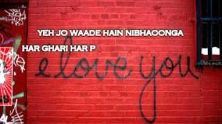 Waada Raeth with lyrics (Full Song) HQ