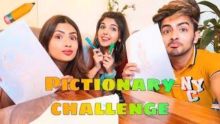 PICTIONARY CHALLENGE! ✏️Ft. Aashna & Sanket   Ashi Khanna
