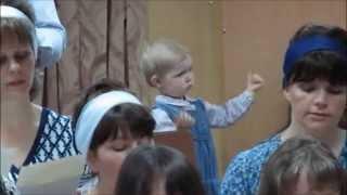 Little Girl Conducts Choir in Kyrgyzstan!