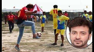 ফুটবল খেলায় শাকিব খানের অবস্থা দেখুন ! Shakib Football Player !
