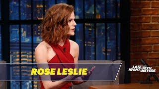 Rose Leslie Won