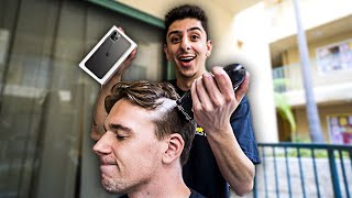Giving People The iPhone 11 IF They Shave Their Head...