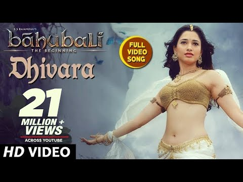 Baahubali Songs | Dhivara Video Full Song | Prabhas, Anushka Shetty,Rana,Tamannaah | M M Keeravani
