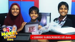 Abdul Bari cartoons channel youtube silver play button.