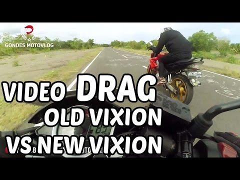 Adu Drag Yamaha Old Vixion 150 Vs Yamaha New Vixion 150 Siapa Yang Menang..!