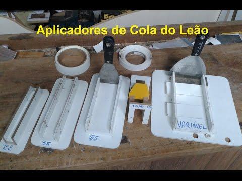Faça Você Mesmo Aplicador de Cola de Contato Variável Elias Leão