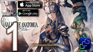 VALKYRIE ANATOMIA -The Origin Android iOS Gameplay Walkthrough - Part 1 - Valkyrie Awaken