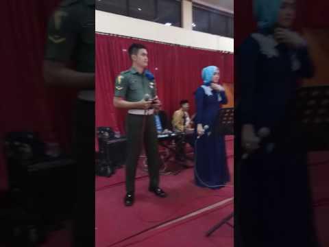 Keren !!! TNI Kasmaran nyanyi bray