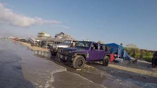 Beach Day Jeeps GO TOPLESS 2018