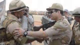 تسلم ايديك أغنيه حسين الجسمي لجيش مصر
