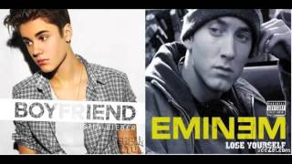 Eminem vs Justin Bieber   Lose Your Boyfriend mashup 360p