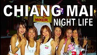 Chaing Mai night life. Thailand. Bars & Restaurants with Geoff Carter