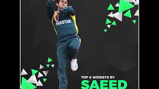 Top 6 Wickets By Saeed Ajmal