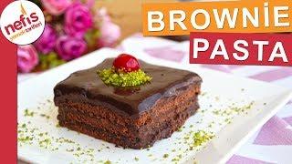 Brownie Pasta Tarifi -  Pişirmeden pratik bir şekilde nefis bir pasta yapabilirsiniz
