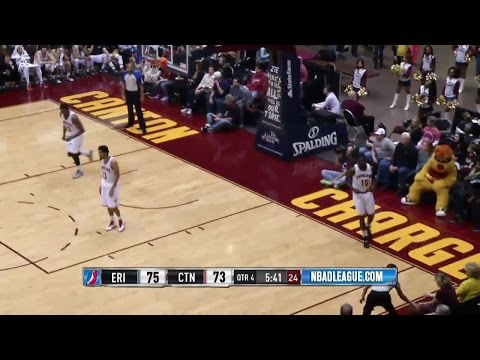 Melvin Ejim posts 21 points & 11 rebounds vs. the Charge, 12/19/2015