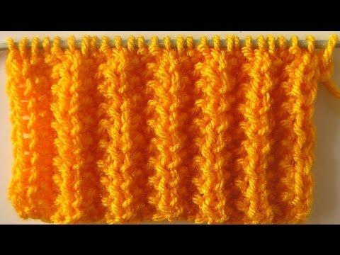 Замочек вязание спицами