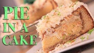 Pie in a Cake | Just Add Sugar