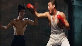 BRUCE LEE vs JEAN CLAUDE VAN DAMME