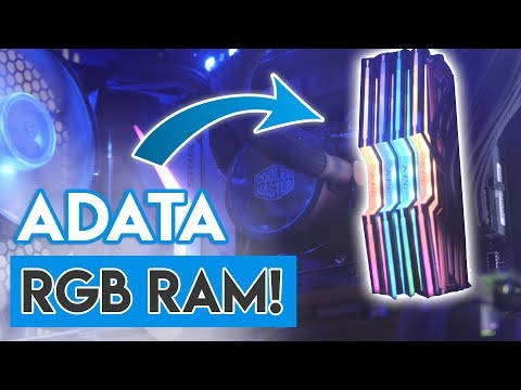 ADATA SPECTRIX RGB RAM REVIEW! [Affordable Aura Sync RAM!]