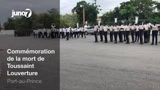 Commémoration de la mort de Toussaint Louverture