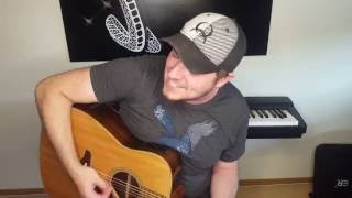 I took A pill in Ibiza - Mike Poser Acousti Cover Jake Tucker