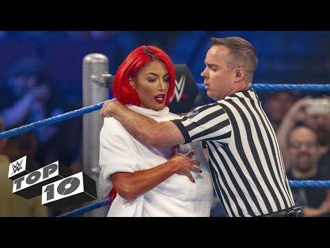 Embarrassing Superstar moments WWE Top 10 Nov. 24 2018