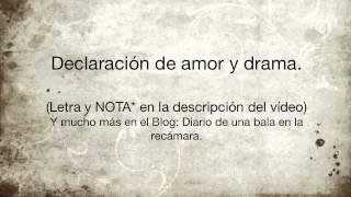 Monica Gae - Declaración de amor y drama.