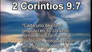 2 Corintios 9:7 Cristo Jesus en Biblia Parabola TV Jesus Cristo 2 Corintios 9:7 HD Historia