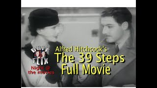 The 39 Steps 1935 (Full Movie) [HQ] Alfred Hitchcock   Brit Flix Night @ the movies