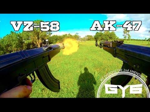 Xxx Mp4 AK 47 Vs VZ 58 FULL AUTO 3gp Sex
