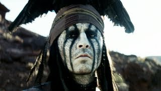 The Lone Ranger Trailer #2 Johnny Depp 2013 Movie - Official [HD]