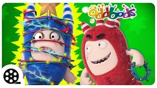 Cartoon | Oddbods - An ELECTRIFYING CHRISTMAS To Remember | Funny Cartoons For Children