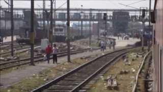 Sealdah Rajdhani Blast: Kanpur - New Delhi High Speed Compilation