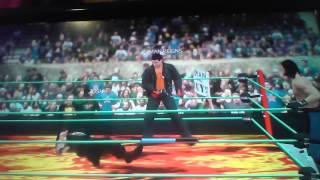 WWE 2k17 Gameplay (Low Quality)