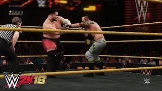 WWE 2K18 - Samoa Joe vs. Eric Young | NXT