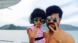 Ram Charan with Pawan kalayan Daughter Very Rare Unseen Personal Video