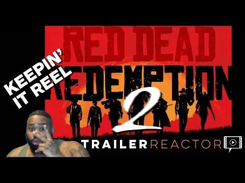 RED DEAD REDEMPTION 2 REACTION TRAILER - AROVIA.io