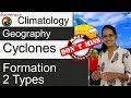 Download Video Download Cyclones, Formation & its 2 Types (Examrace - Dr. Manishika) 3GP MP4 FLV