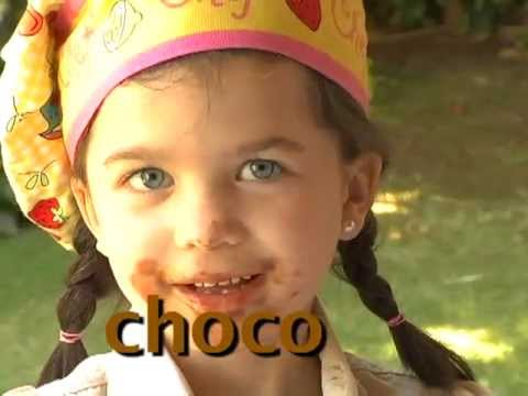 Chocolate Cantando Aprendo a Hablar