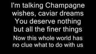 Fergie Ft. Ludacris-Glamorous (WITH LYRICS)