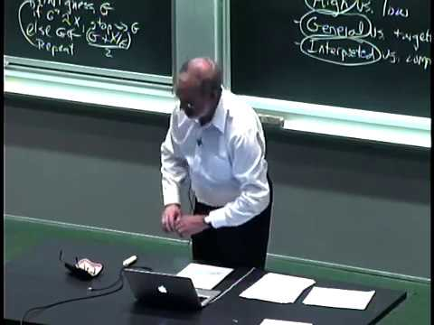 Lec 1 MIT 6.00 Introduction to Computer Science and Programming Fall 2008