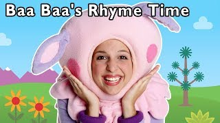 Baa Baa's Rhyme Time Bonanza and More | NURSERY RHYME SONGS | Baby Songs from Mother Goose Club!