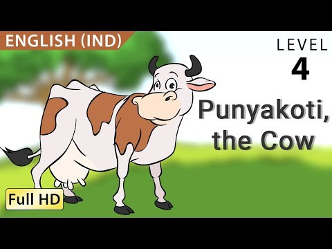 Punyakoti, the Cow : Learn English (IND) with subtitles - Story for Children
